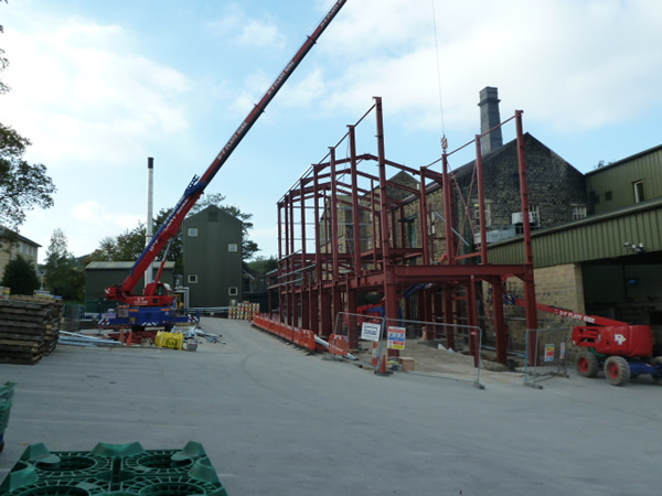timothy taylor brewery construction ite